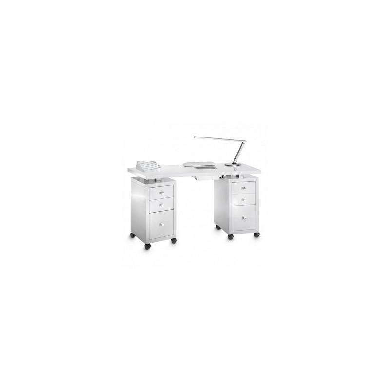 Table Manucure Square Double Laquée Aspi 318LX