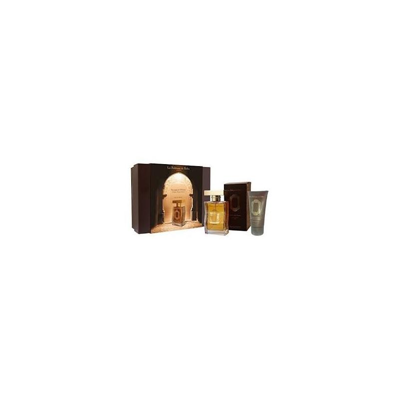 Coffret Parfum Ambre Musc Santal parfum 100ml+ crème pour les mains 50ml