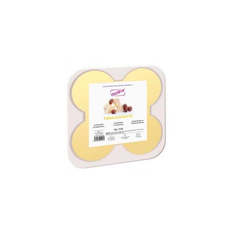 Cire Dépileve traditionnelle au beurre de karité 1kg