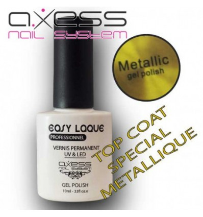 Top Coat Métallique Easy Laque 10ml
